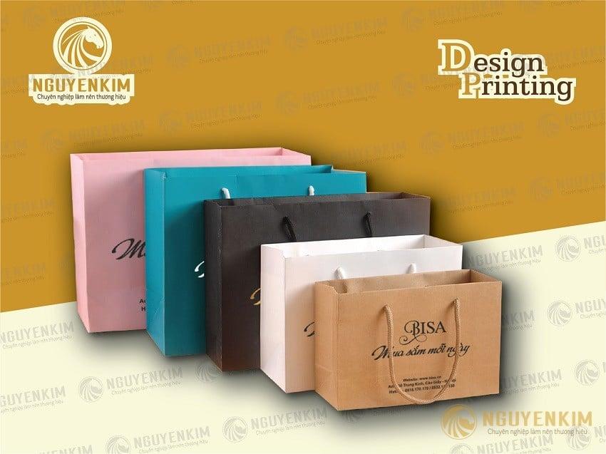 Dịch vụ bán túi giấy có sẵn