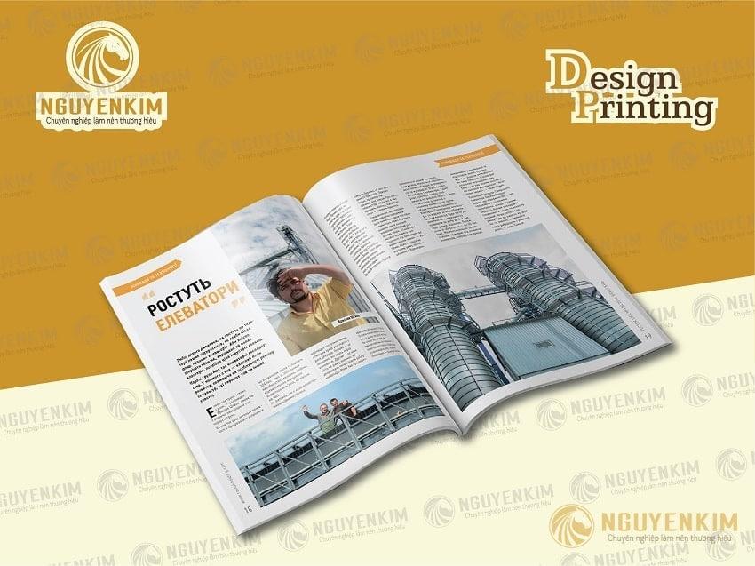 Lưu ý về font chữ và định dạng trong thiết kế catalogue