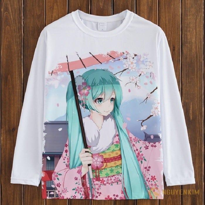 In áo Manga