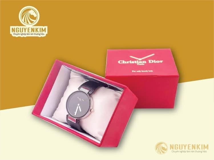 In hộp giấy đựng đồng hồ mẫu 1