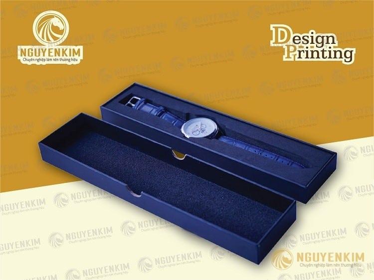 In hộp giấy đựng đồng hồ mẫu 2