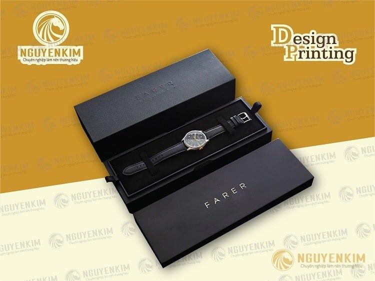 In hộp giấy đựng đồng hồ mẫu 5