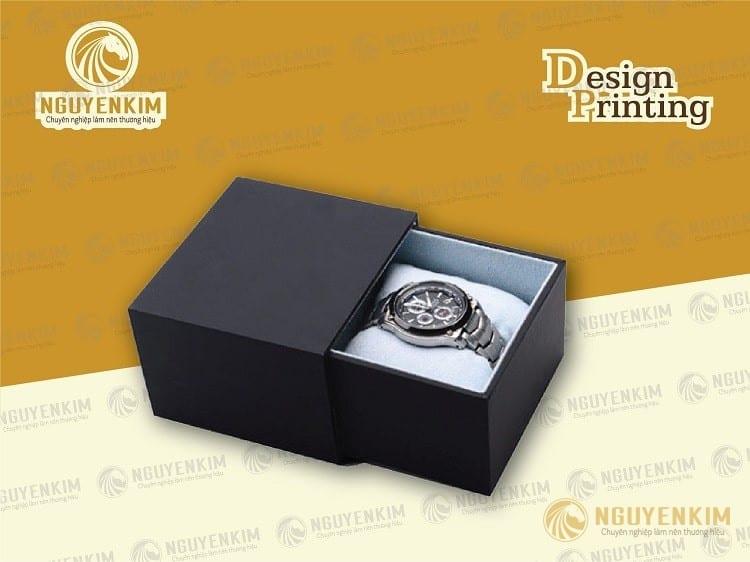 In hộp giấy đựng đồng hồ mẫu 6