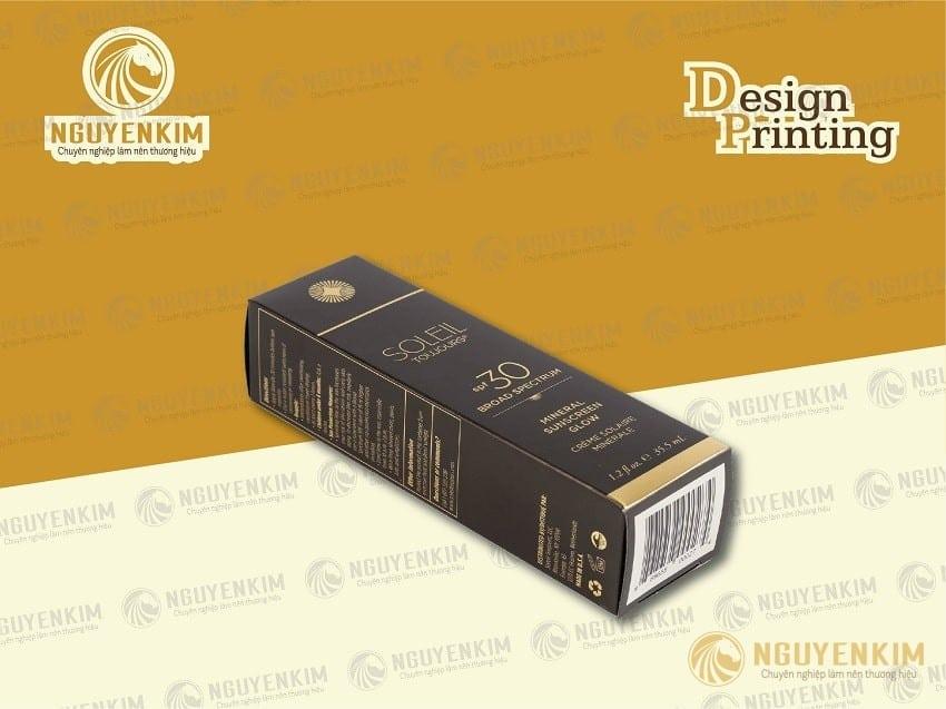 In hộp giấy mỹ phẩm mẫu 5