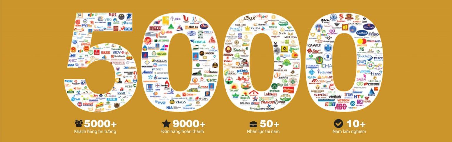 5000 khách hàng tại in Nguyễn Kim