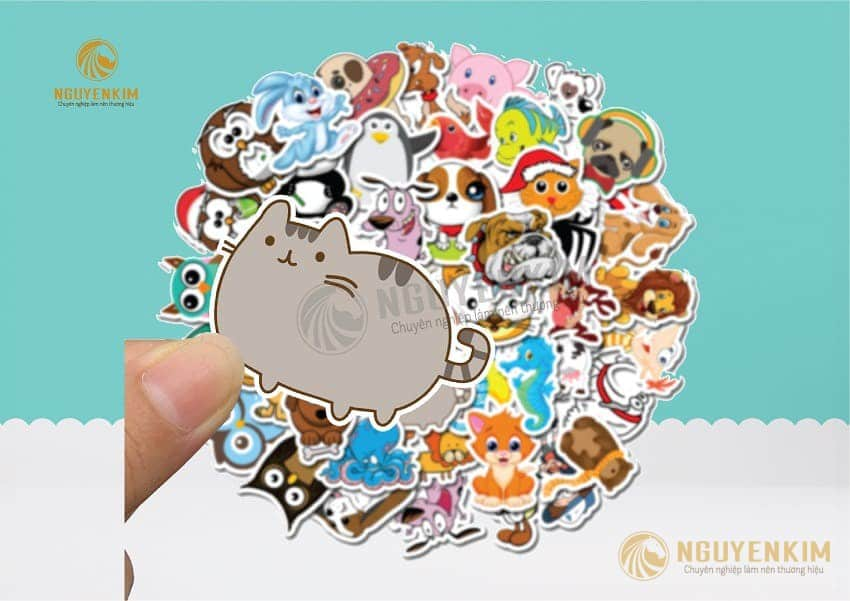 In Sticker mẫu 1