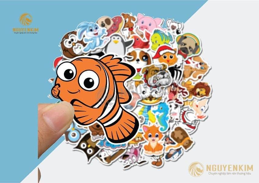 In Sticker tại In Nguyễn Kim