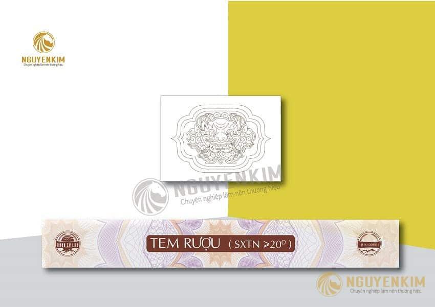 In tem bảo hành mẫu 2