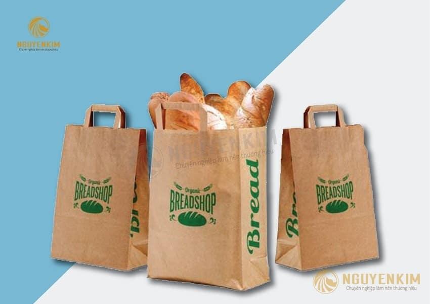 In túi giấy đựng bánh mì mẫu 3