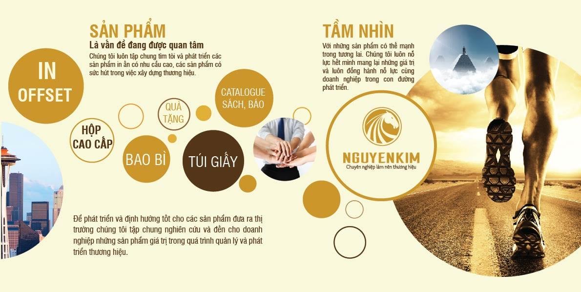 Tầm nhìn của In Nguyễn Kim