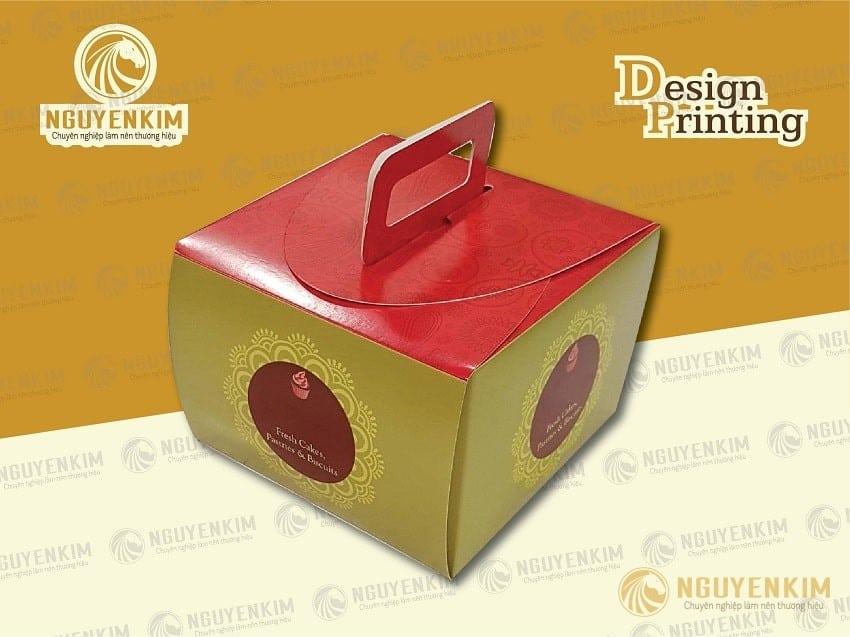 In hộp giấy đựng bánh sinh nhật mẫu 3