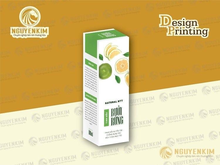 In hộp giấy đựng tinh dầu mẫu 3