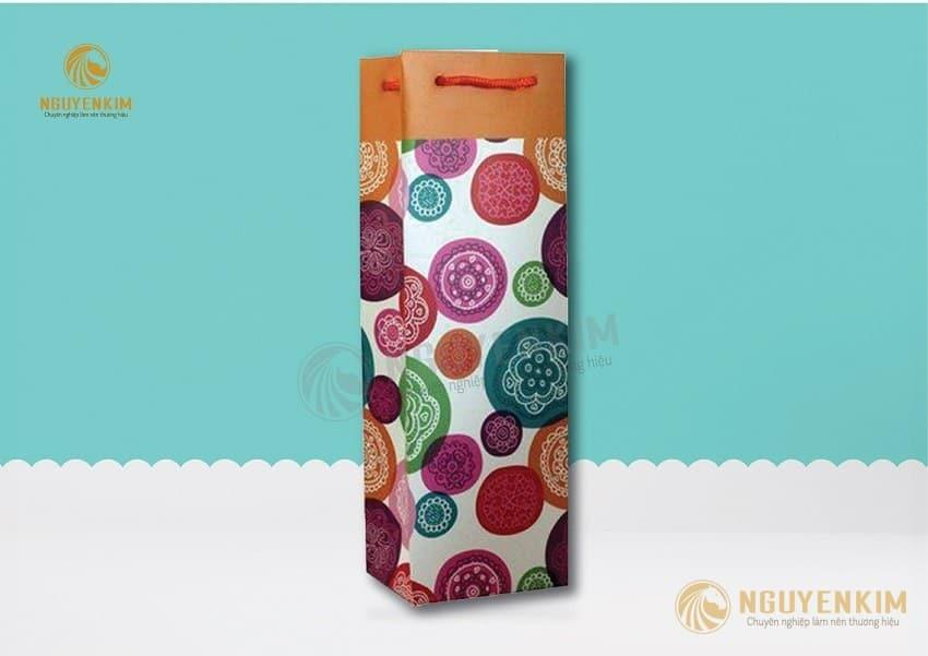 In túi giấy đựng rượu mẫu 4