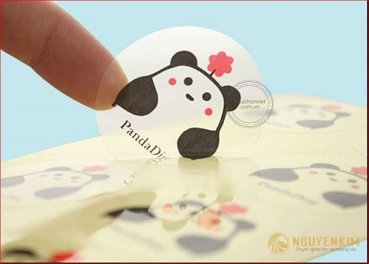 In decal trong suốt mẫu 5