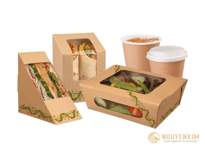 In hộp giấy đựng thức ăn mẫu 1