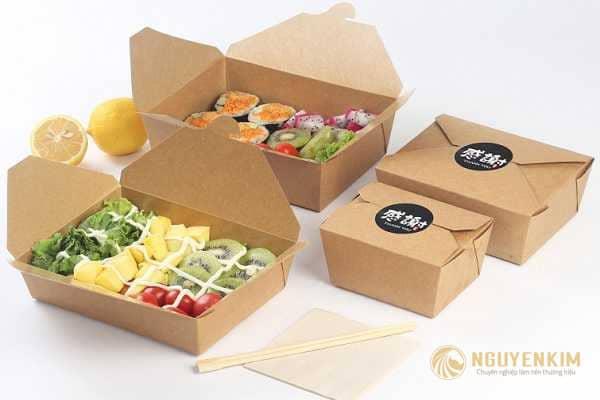 In hộp giấy đựng thức ăn mẫu 2