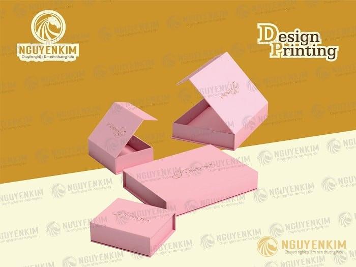 In hộp giấy đựng trang sức mẫu 3