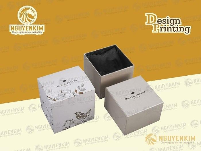 In hộp giấy đựng trang sức mẫu 6