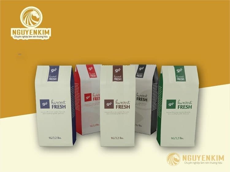 In túi giấy đựng cafe mẫu 2