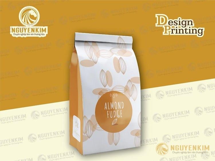In túi giấy đựng cafe mẫu 3