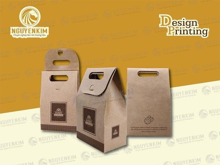 In túi giấy đựng thực phẩm mẫu 3