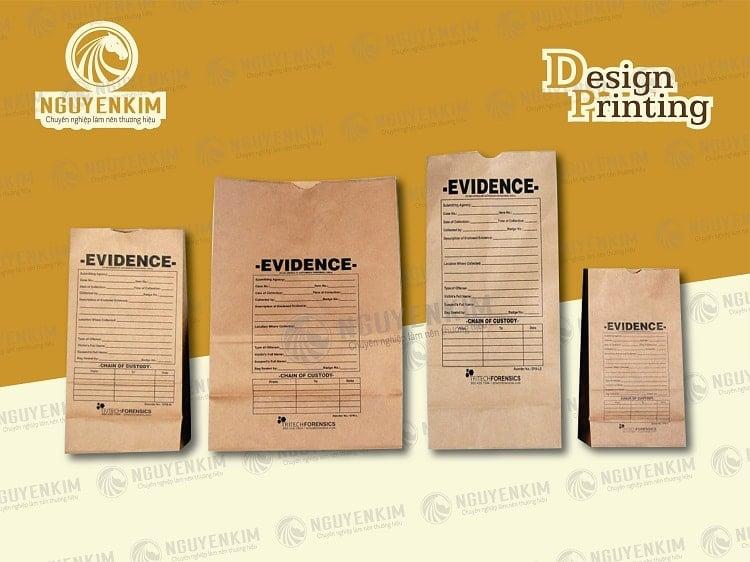 In túi giấy đựng thực phẩm mẫu 6
