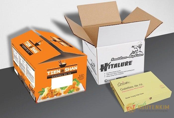 Tiêu chuẩn in thùng carton