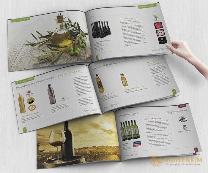 In Catalogue mỹ phẩm mẫu 2