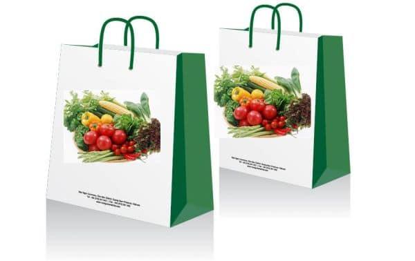 In túi giấy đưng hoa quả