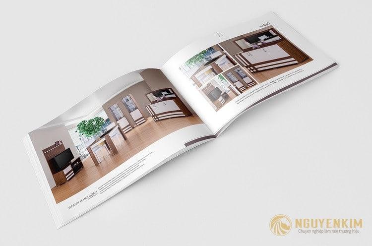 Thiết kế Catalogue nội thất gỗ cao cấp
