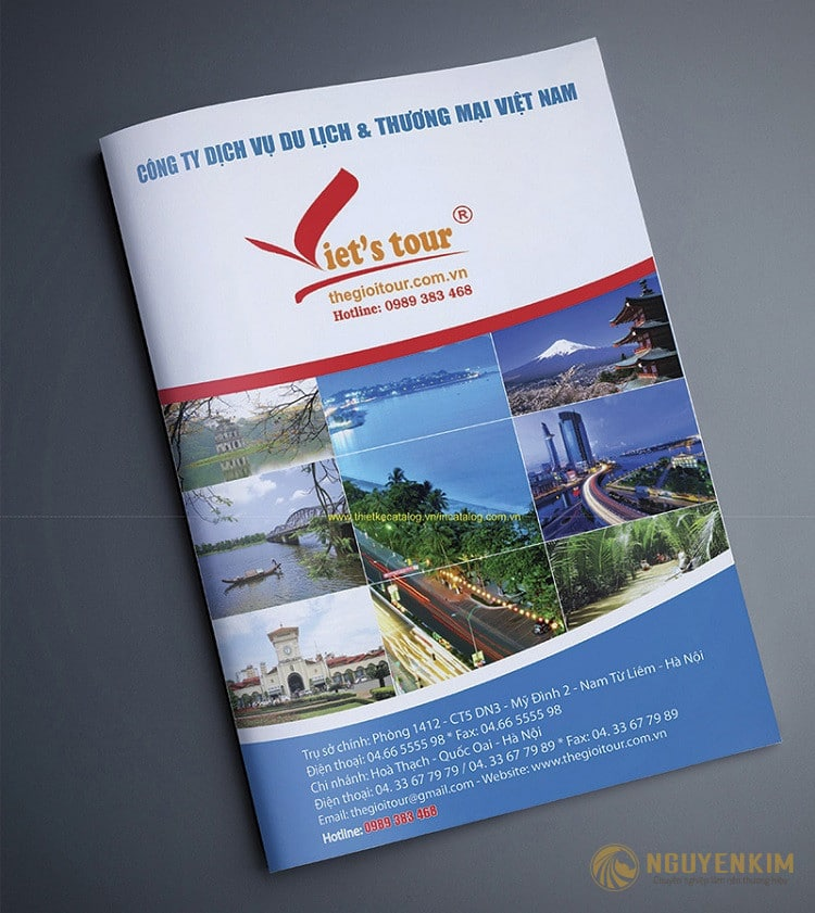 Catalogue du lịch 1